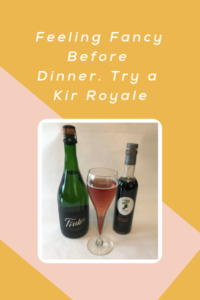 An Evening Mimosa: Kir Royale
