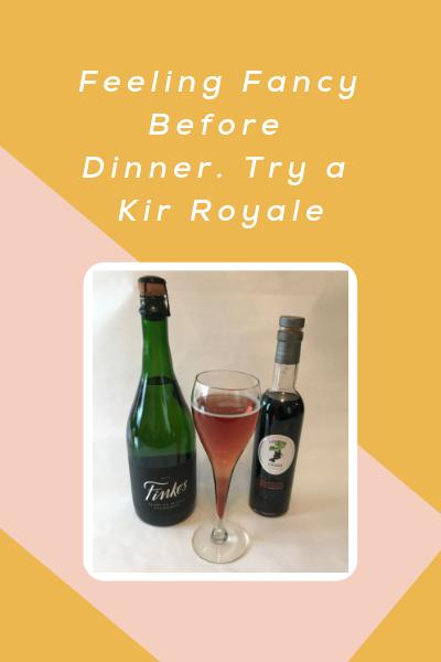 An Evening Mimosa: Kir Royale