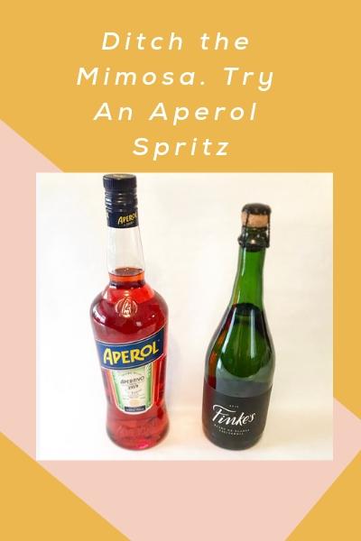 New Brunch Cocktail: Aperol Spritz