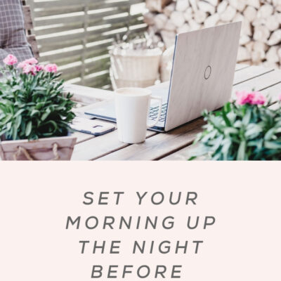 5 Tips to Improve Your Evening Routine
