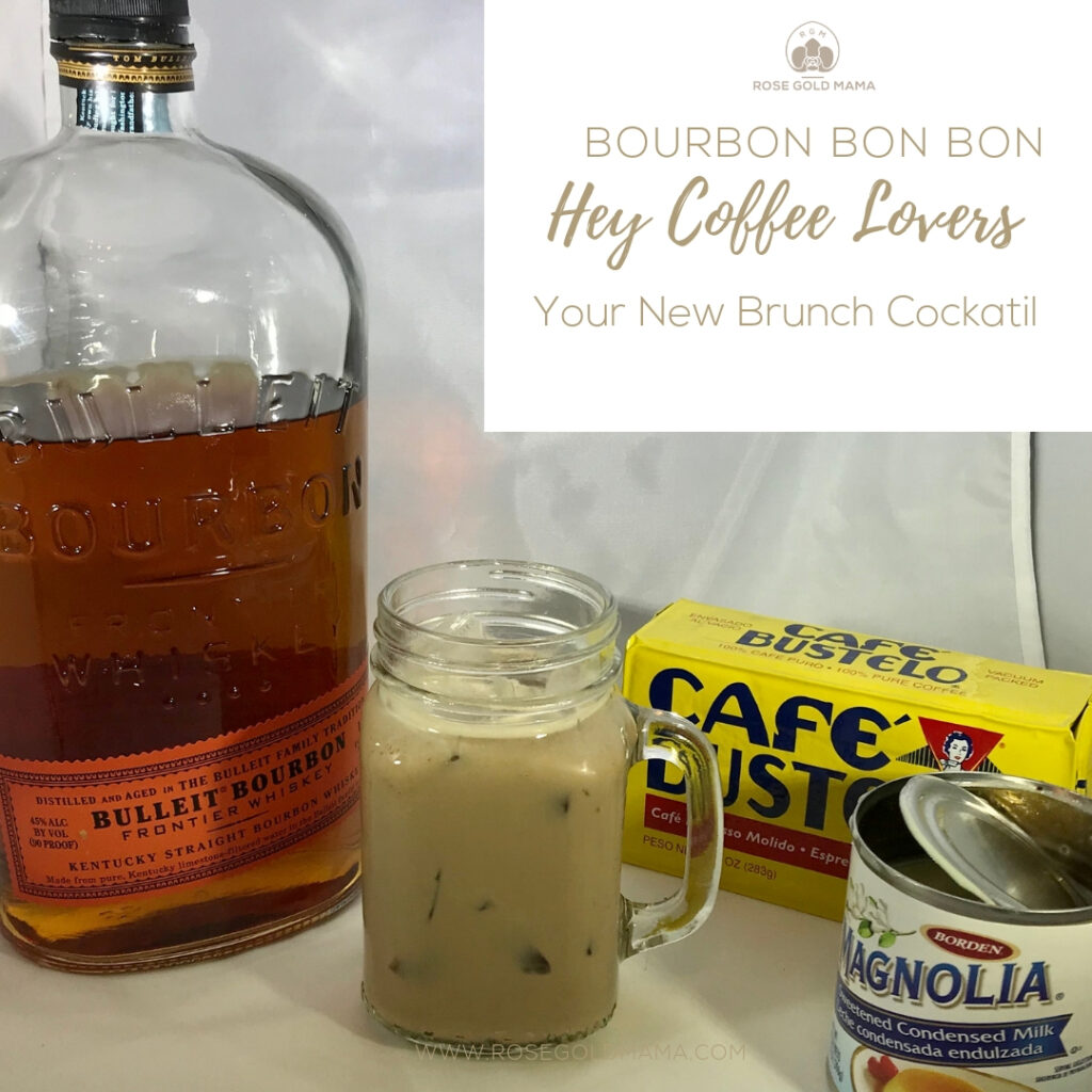 If you like bourbon and you like coffee BOY do I have a treat for you. This sweet coffee cocktail laced with  bourbon is a drink sure to please you and your guests.