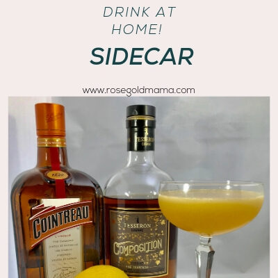 A Sidecar Cocktail