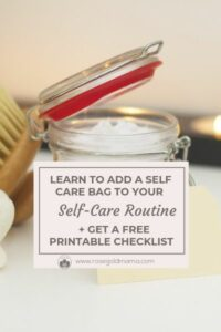 Your Self-Care Routine Needs a Self-Care Bag