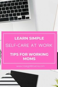 Simple Self-Care at Work