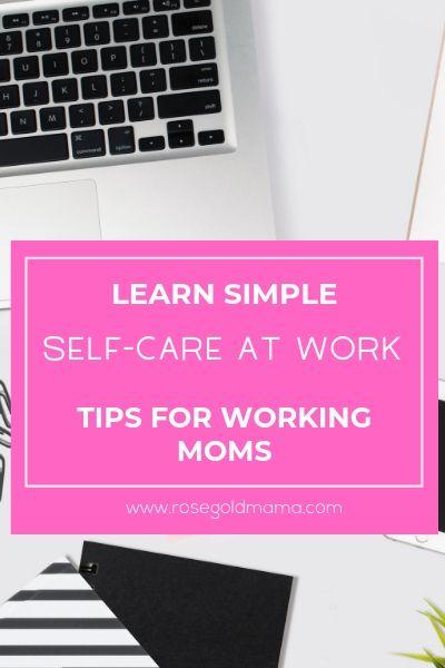 Simple Self-Care at Work