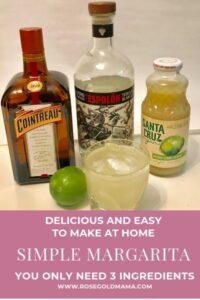 Simple Margarita | Rose Gold Mama