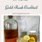 The Gold Rush cocktail, is a delicious citrus and sweet bourbon cocktail made for slow sipping. Get the ingredients and free printable recipe card here. If you are a whiskey girl or into bourbon this will be your summer drink of 2019. I like Bulleit Bourbon, if you don't have that on hand just use your favorite type of Whiskey.