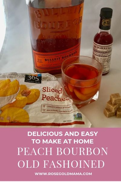 Looking for a sweet summer twist on the classic old fashioned cocktail look no further. A peach old fashioned is what you need. Get the recipe here.