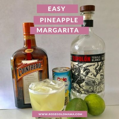 The easy and delicious pineapple margarita recipe will knock your socks off and cool your guests down.
