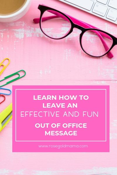 The Best Out Of Office Message Examples