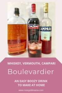 How to Make A Boulevardier AKA Bourbon Negroni
