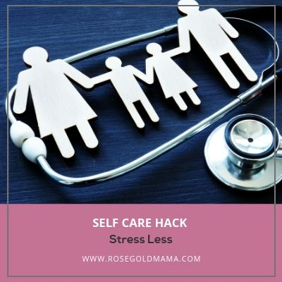 Self Care Hack for Moms:  Health Care Appointments | Rose Gold Mama