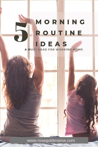 Morning Routine List and Ideas
