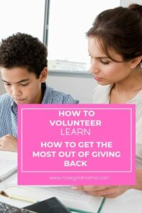 How to Volunteer – Self Care Idea