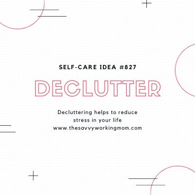 Declutter | The Savvy Working Mom